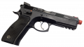 Оптический сенсор WS-M02 установленный на пистолете CZ