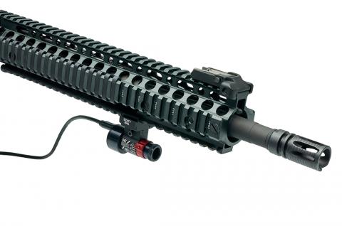 SCATT MX-02 на винтовке AR-15