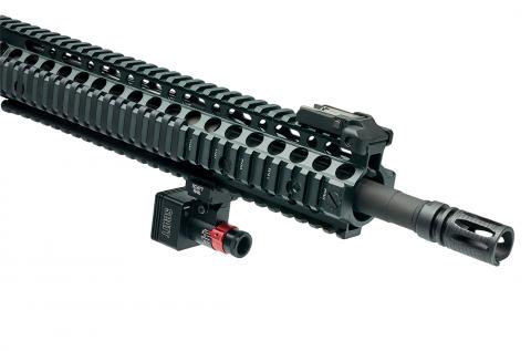 SCATT MX-W2 на винтовке AR-15