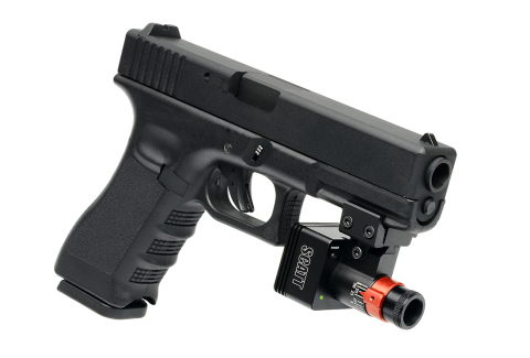 SCATT MX-W2 на пистолете GLOCK