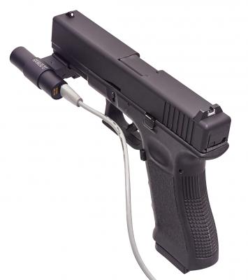 Оптический сенсор OS-02 на пистолете