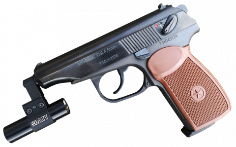 Оптический сенсор WS-03 на пистолете