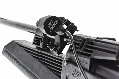 Оптический сенсор на стволе винтовки
